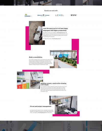 Design Zone Landing Page